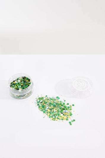 MOJITO GREEN GLITTER POT