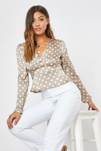 14a0a63e95db Polka Dot Dresses | Polka Dot Clothing & Outfits | In The Style