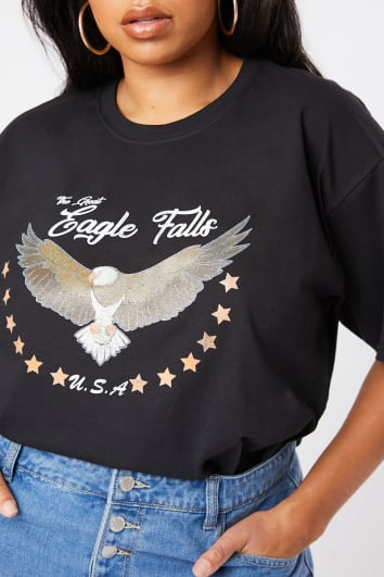 d2f6fb691 T-Shirts | Women's T-Shirts & Tees | In The Style USA