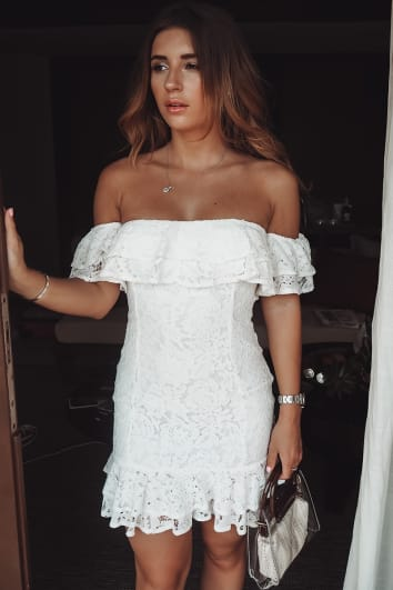 7fbc4d9ec1b7 Bardot Dresses | Off The Shoulder Dress UK | In The Style