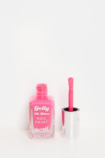 BARRY M GELLY PINK PUNCH NAIL PAINT