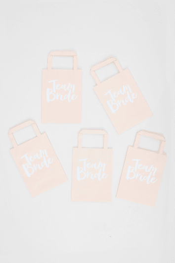 GINGERY RAY TEAM BRIDE BLUSH PARTY BAGS