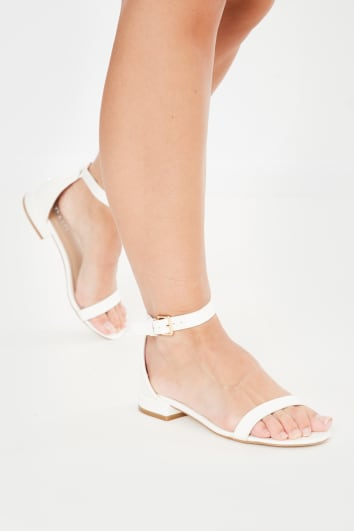 white block sandal heels