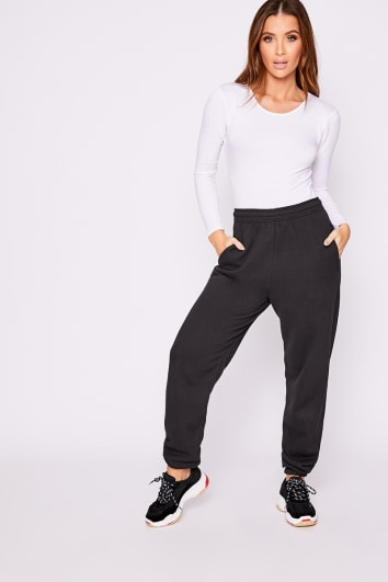 BASIC BLACK LOUNGE JOGGERS