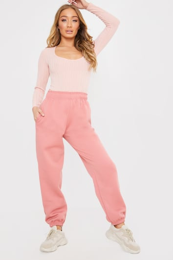 PINK CASUAL JOGGERS