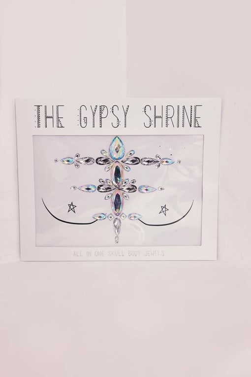 GYPSY SHRINE SKULL ALL IN ONE BODY JEWEL