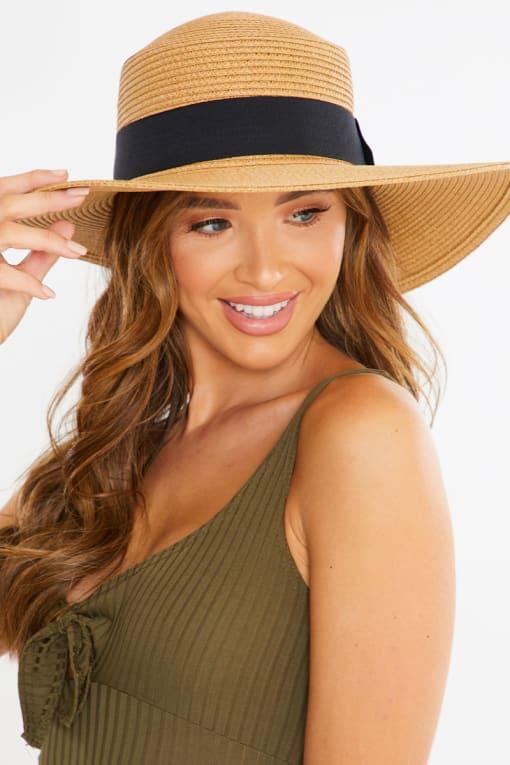 TAN STRAW HAT