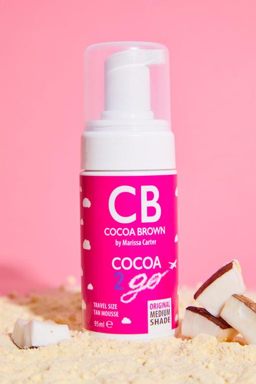COCOA BROWN COCOA 2 GO TRAVEL SIZE 1 HOUR ORIGINAL MEDIUM