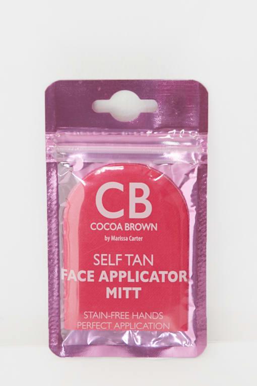 COCOA BROWN FACIAL TANNING MITT