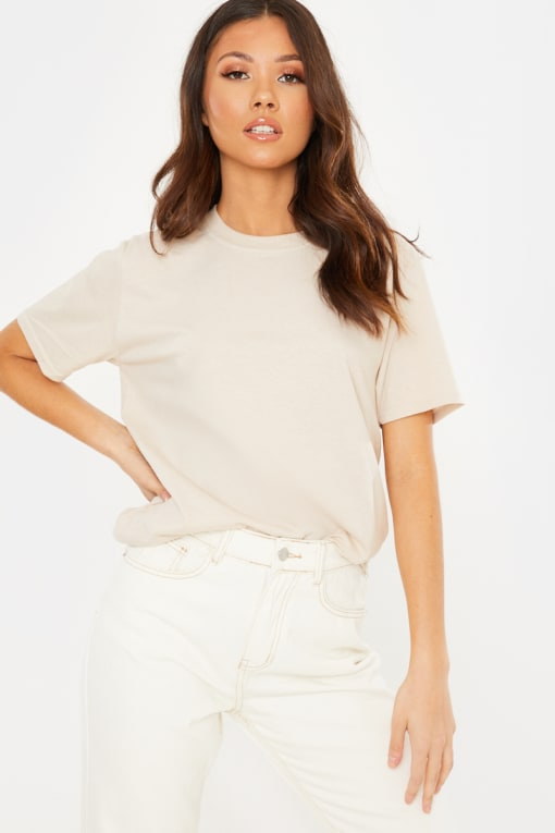 BASIC STONE OVERSIZED T SHIRT