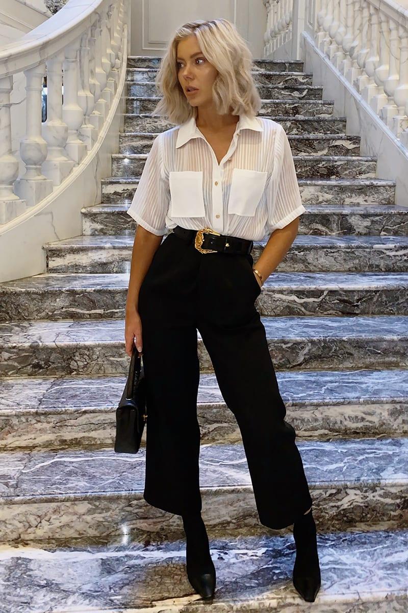 LAURA JADE BLACK 'THE ESSENTIAL' PANTS