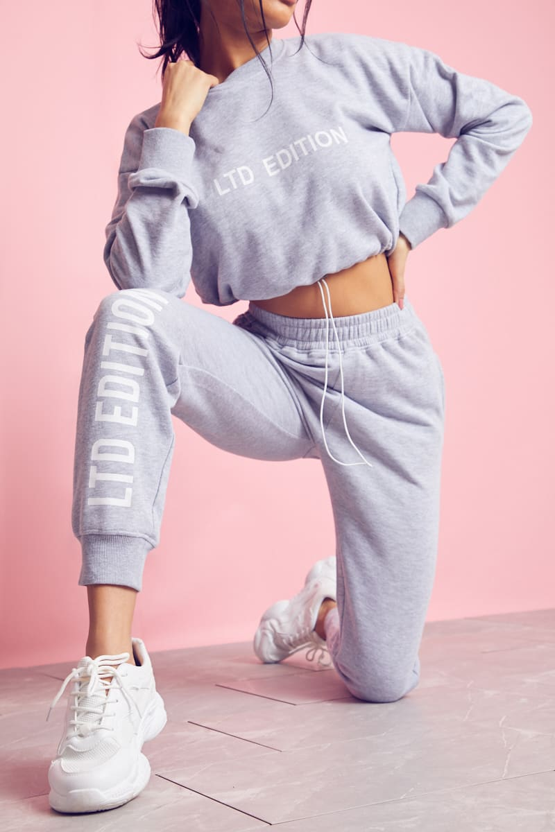 GREY LTD EDITION JOGGERS