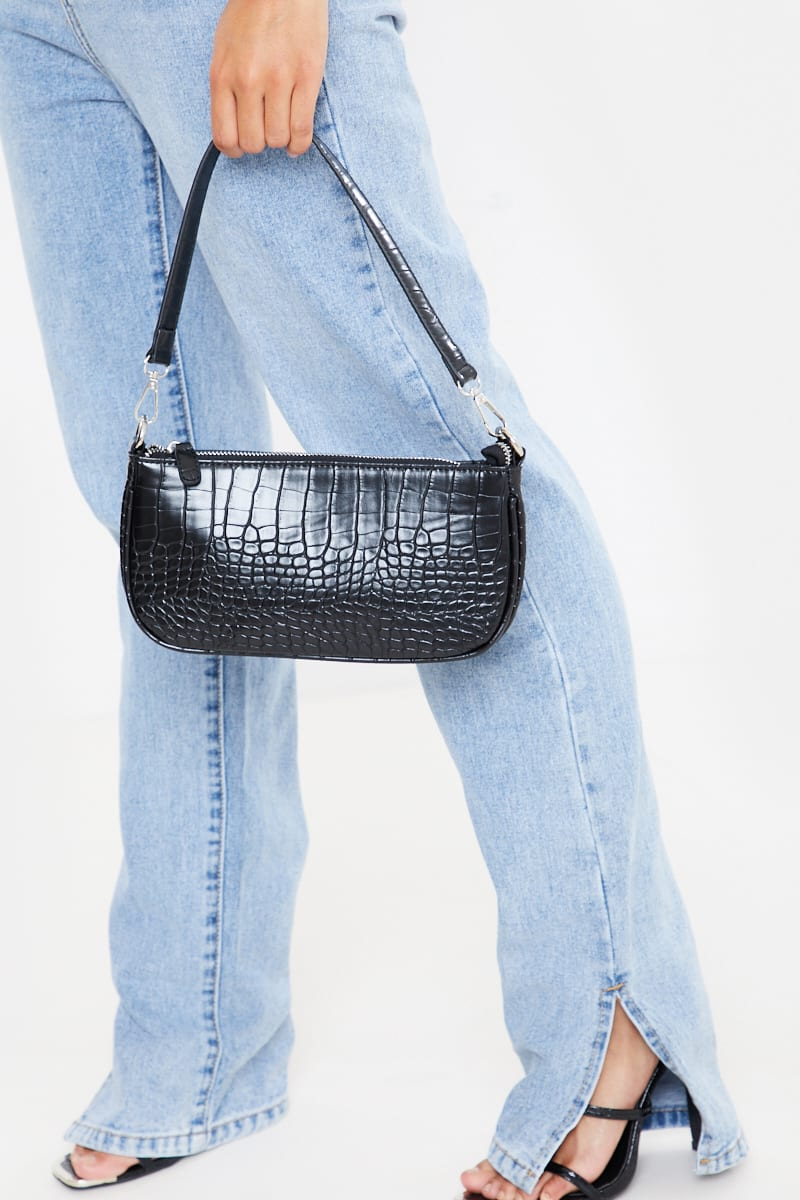 BLACK RECTANGLE BAG