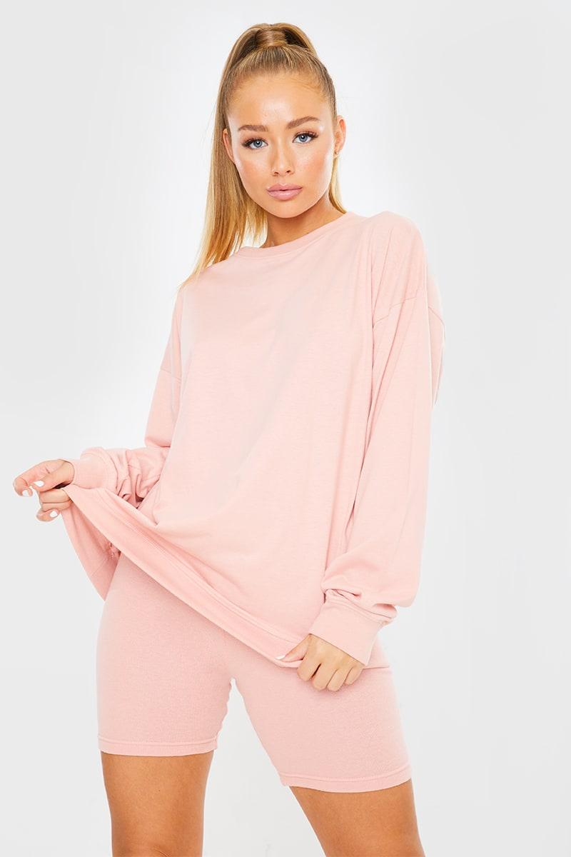 PINK LONG SLEEVE TSHIRT