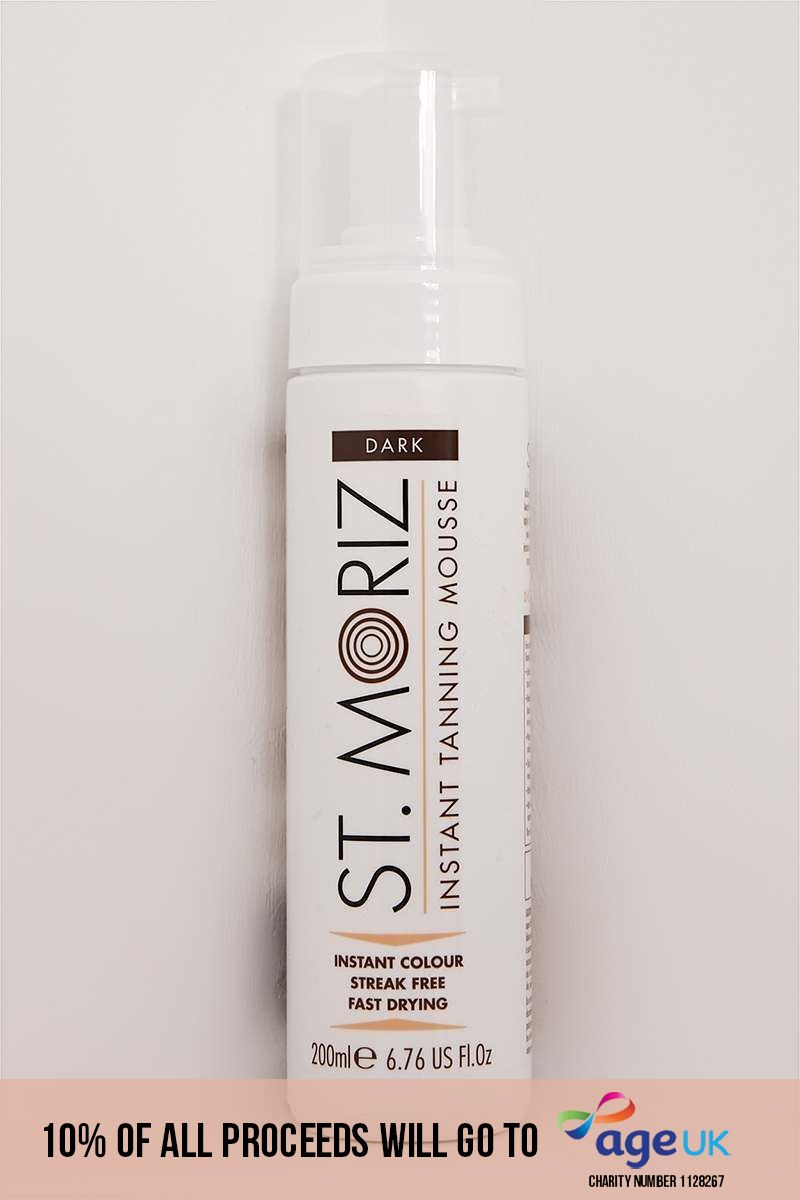 ST. MORIZ DARK MOUSSE 200ML