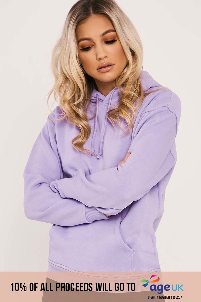 lilac sweater hoodie