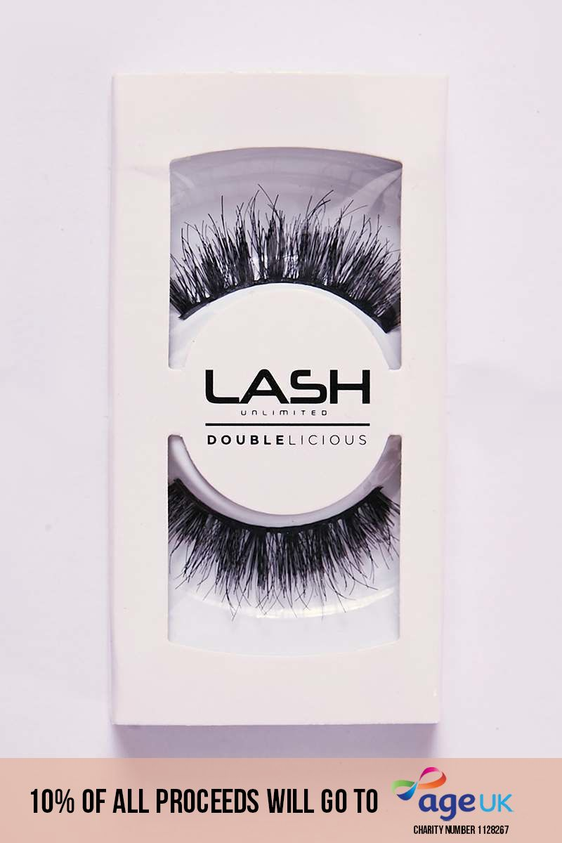 LASH UNLIMITED DOUBLELICIOUS #1 EYELASHES