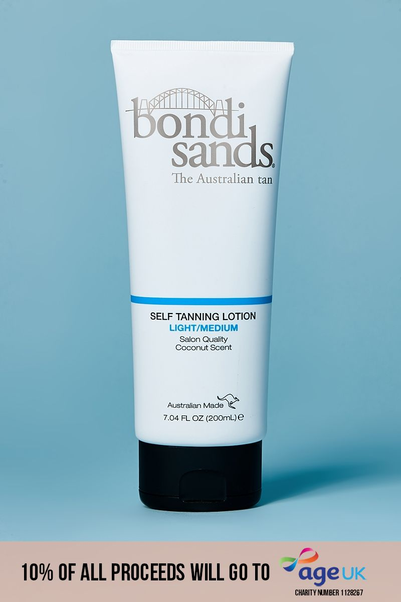 BONDI SANDS LIGHT/MEDIUM SELF TANNING LOTION 200ML