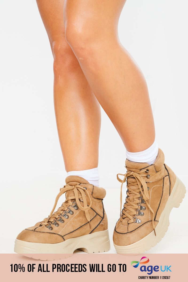 STONE CHUNKY ANKLE BOOTS