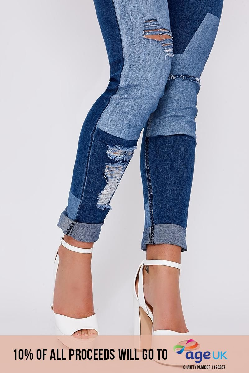 white faux leather platform heels