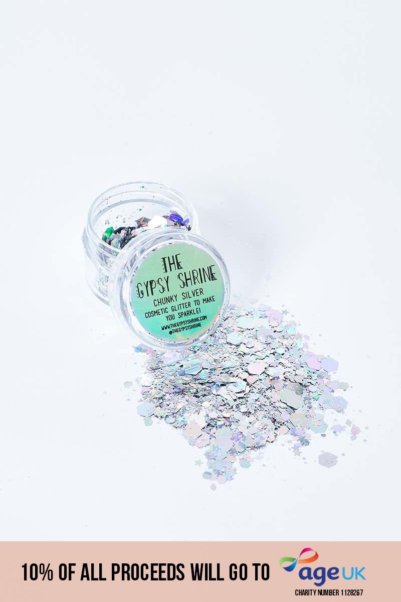 GYPSY SHRINE CHUNKY SILVER GLITTER