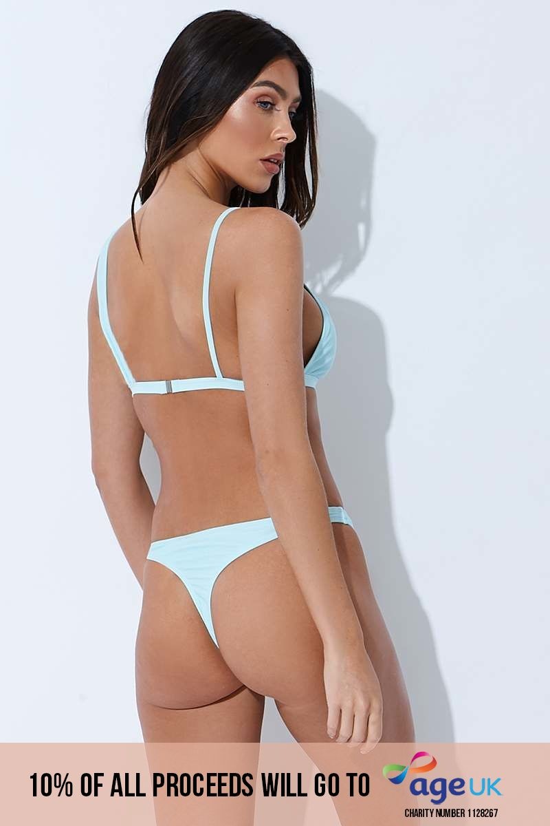 SARAH ASHCROFT MINT THONG BIKINI BOTTOMS