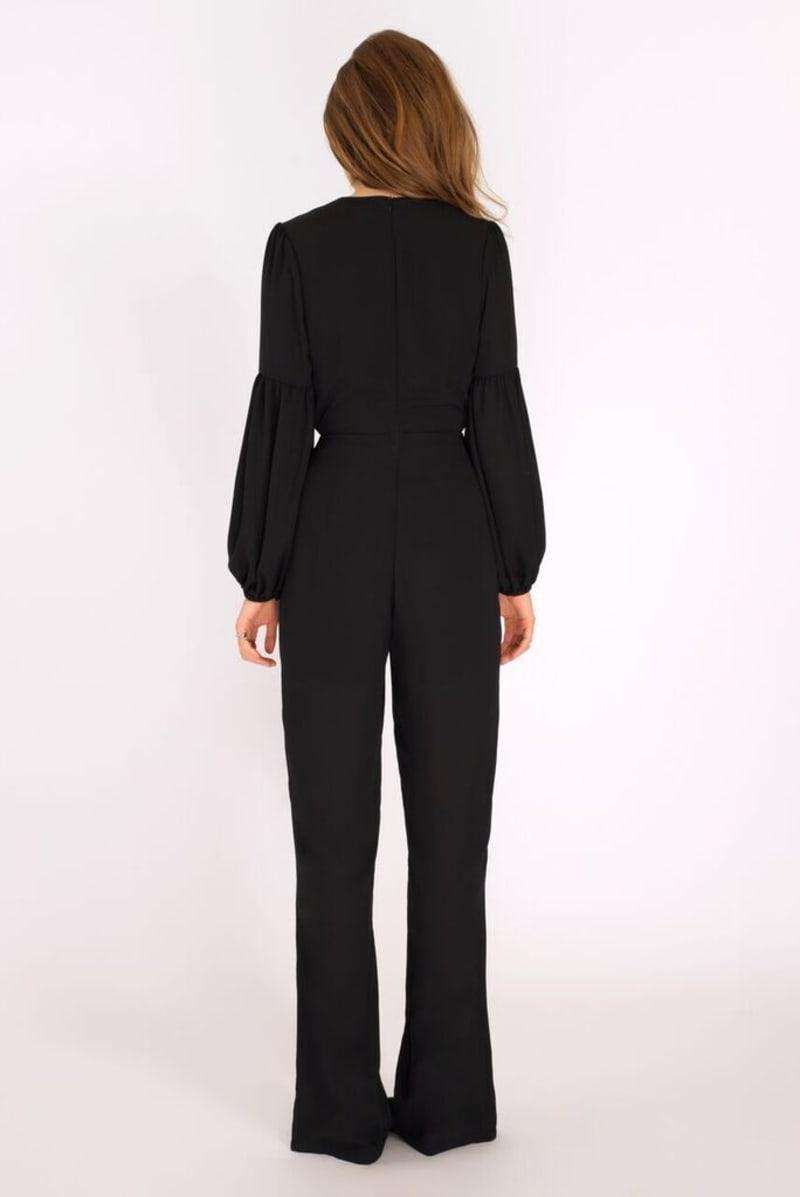 Binky Black Double Tie Jumpsuit