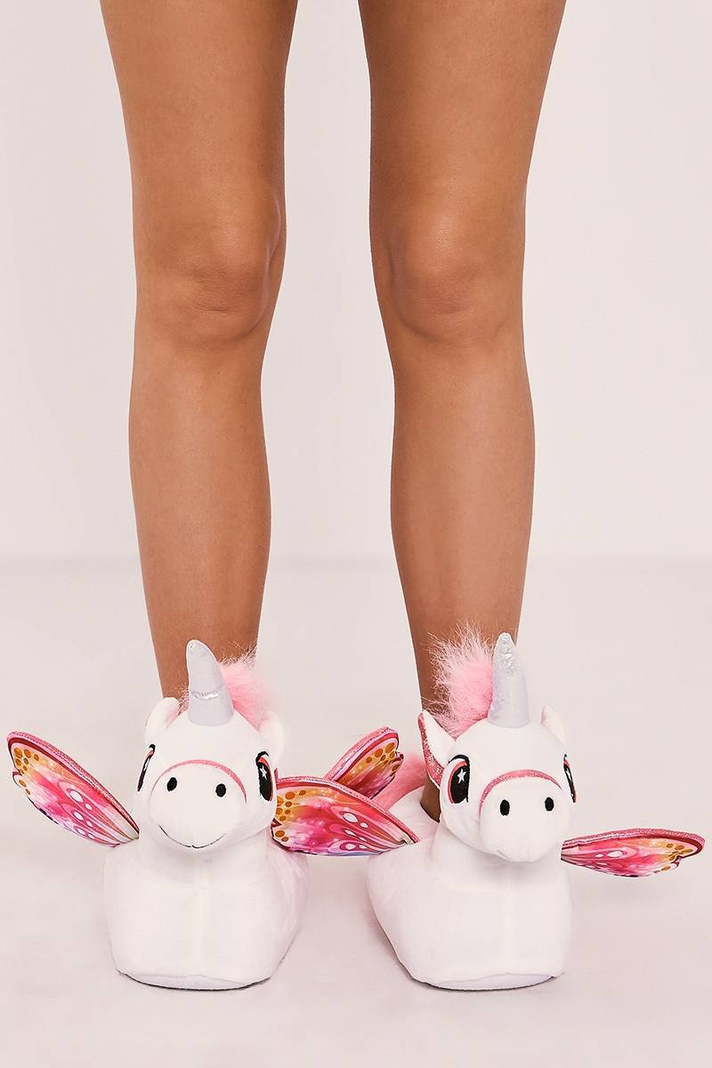 unicorn 3d slippers