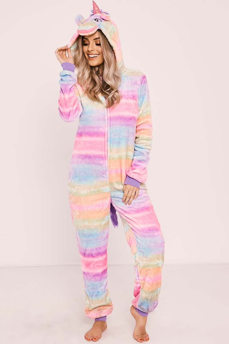 RAINBOW UNICORN 3D ONESIE