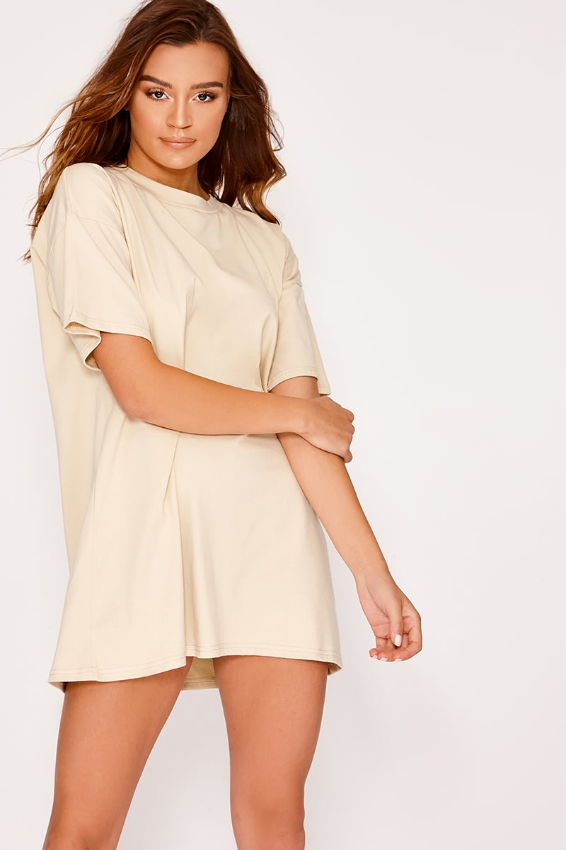 stone basic oversized t shirt