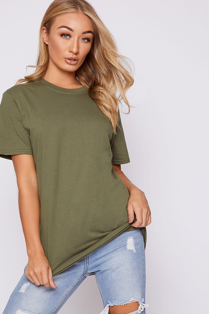 basic oversized t shirt