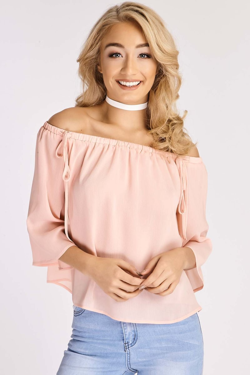 BINKY CORAL CO-ORD TOP
