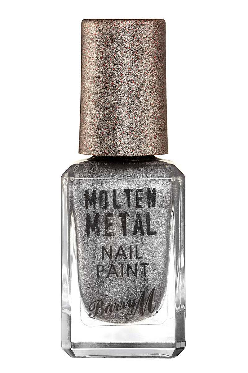BARRY M MOLTEN METALS NAIL POLISH SILVER LINING