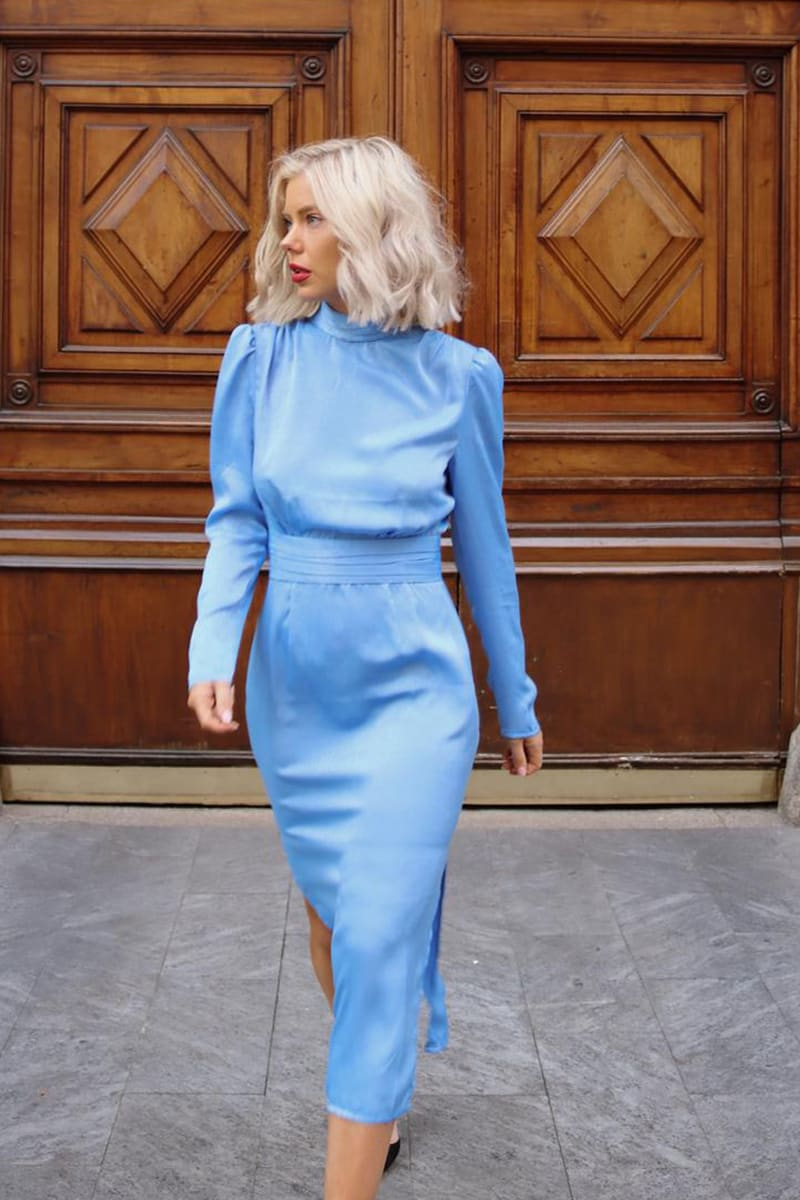 LAURA JADE BLUE 'BELISSIMA' MIDI DRESS
