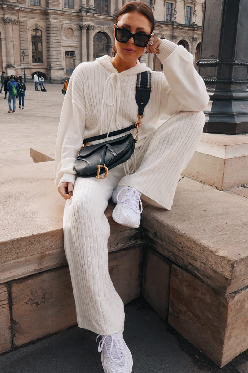 LORNA LUXE CREAM 'LULLABY' CO-ORD TROUSER