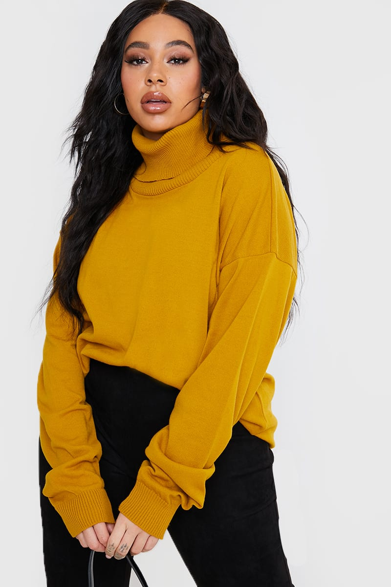 CURVE LORNA LUXE GOLDEN 'CLIVEDEN' COSY FINE KNITTED JUMPER
