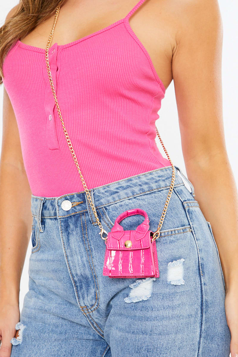 SUPER MINI BAG PINK