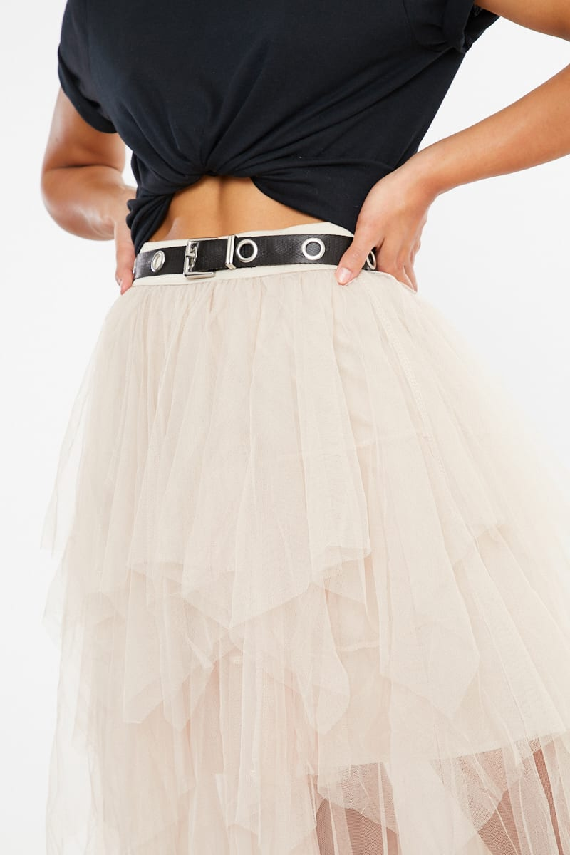 buckle black eyelet belt