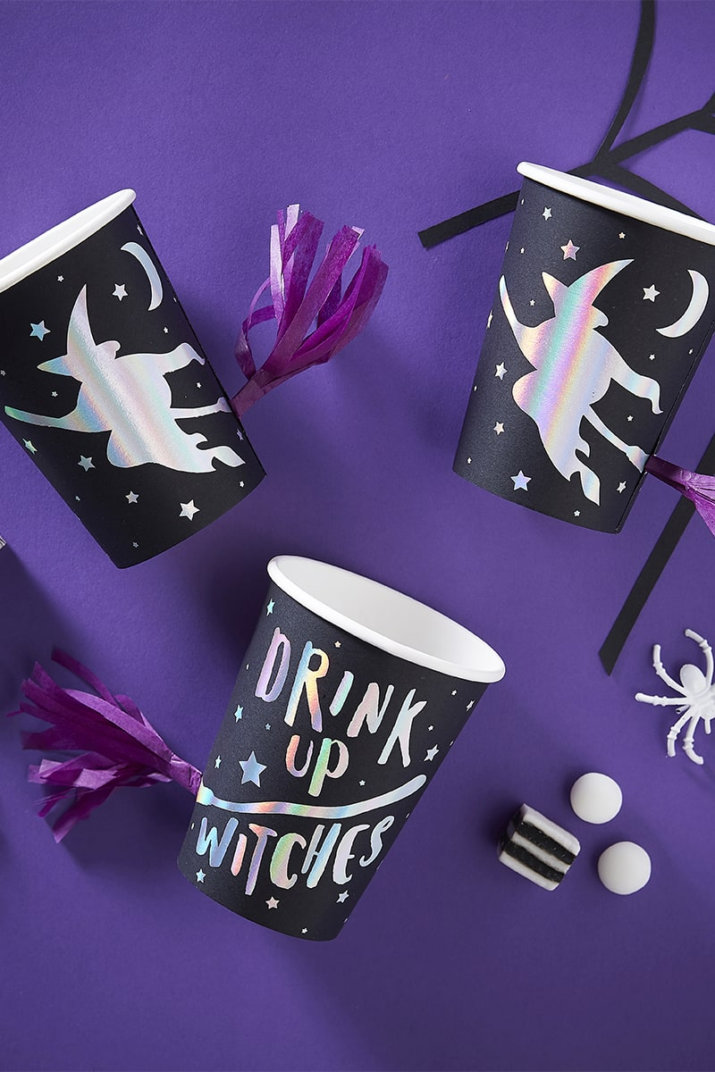 GINGER RAY PAPER PARTY CUPS