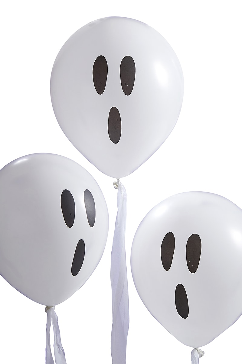 GINGER RAY GHOST CONFETTI BALLOONS