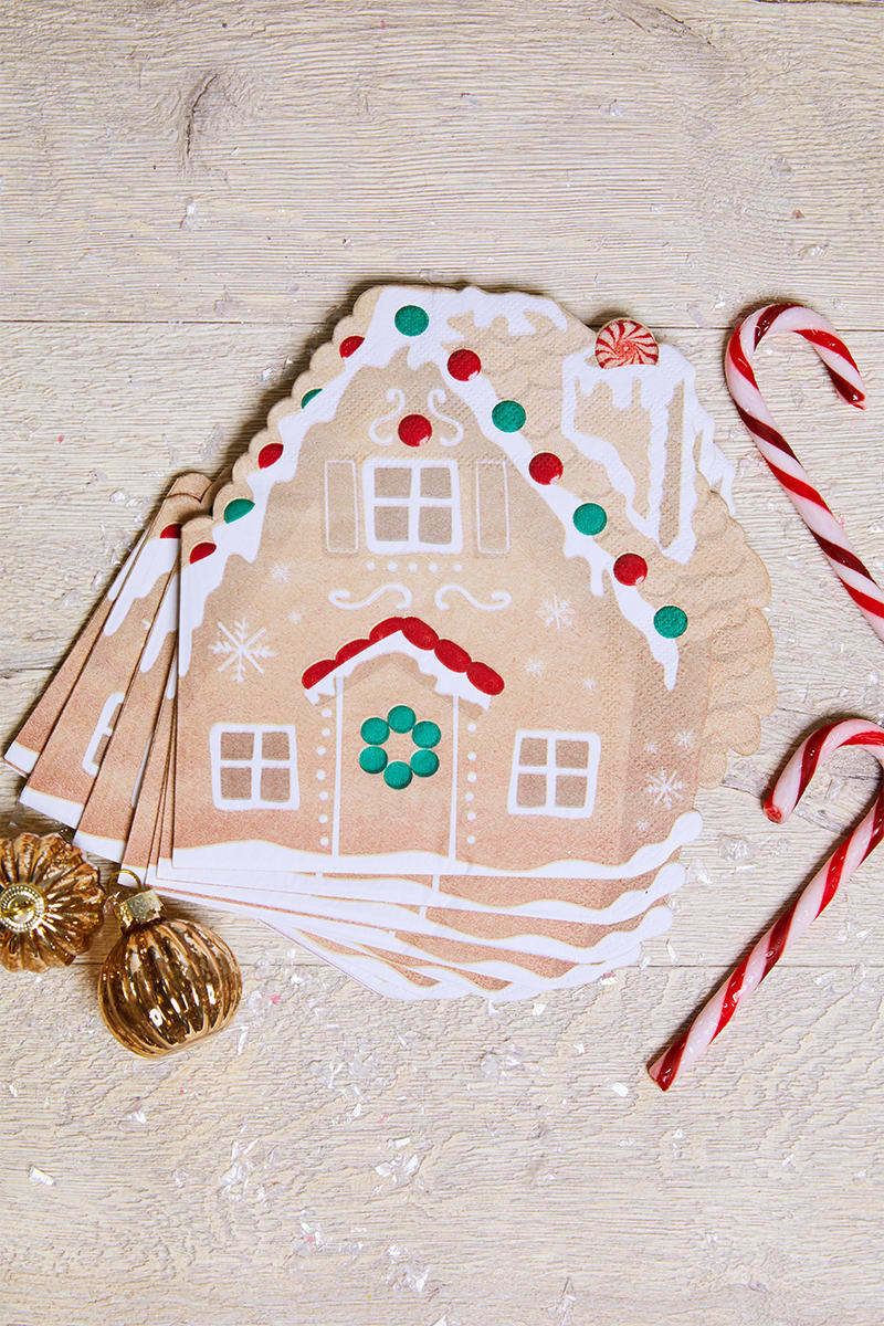 GINGER RAY GINGERBREAD HOUSE NAPKINS