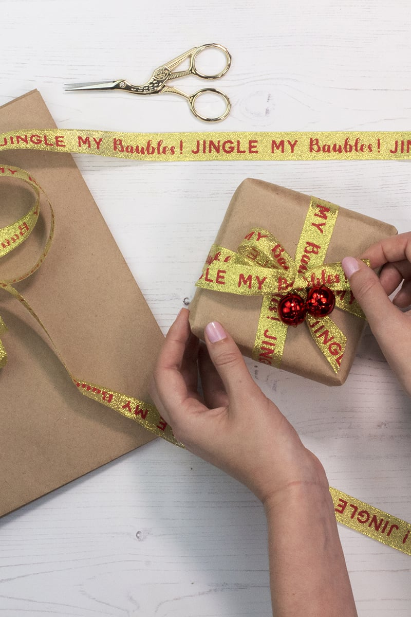 GINGER RAY JINGLE MY BELLS WRAPPING PAPER KIT