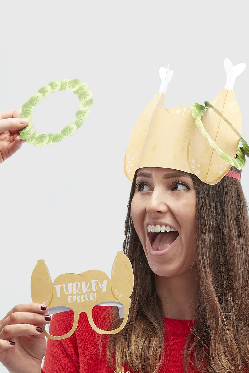 GINGER RAY TURKEY TOSSER CHRISTMAS PARTY GAME