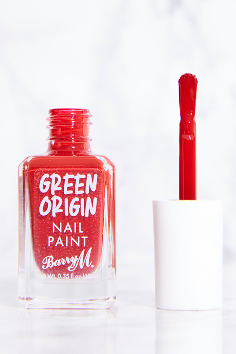 BARRY M GREEN ORIGIN RED SEA NAIL PAINT