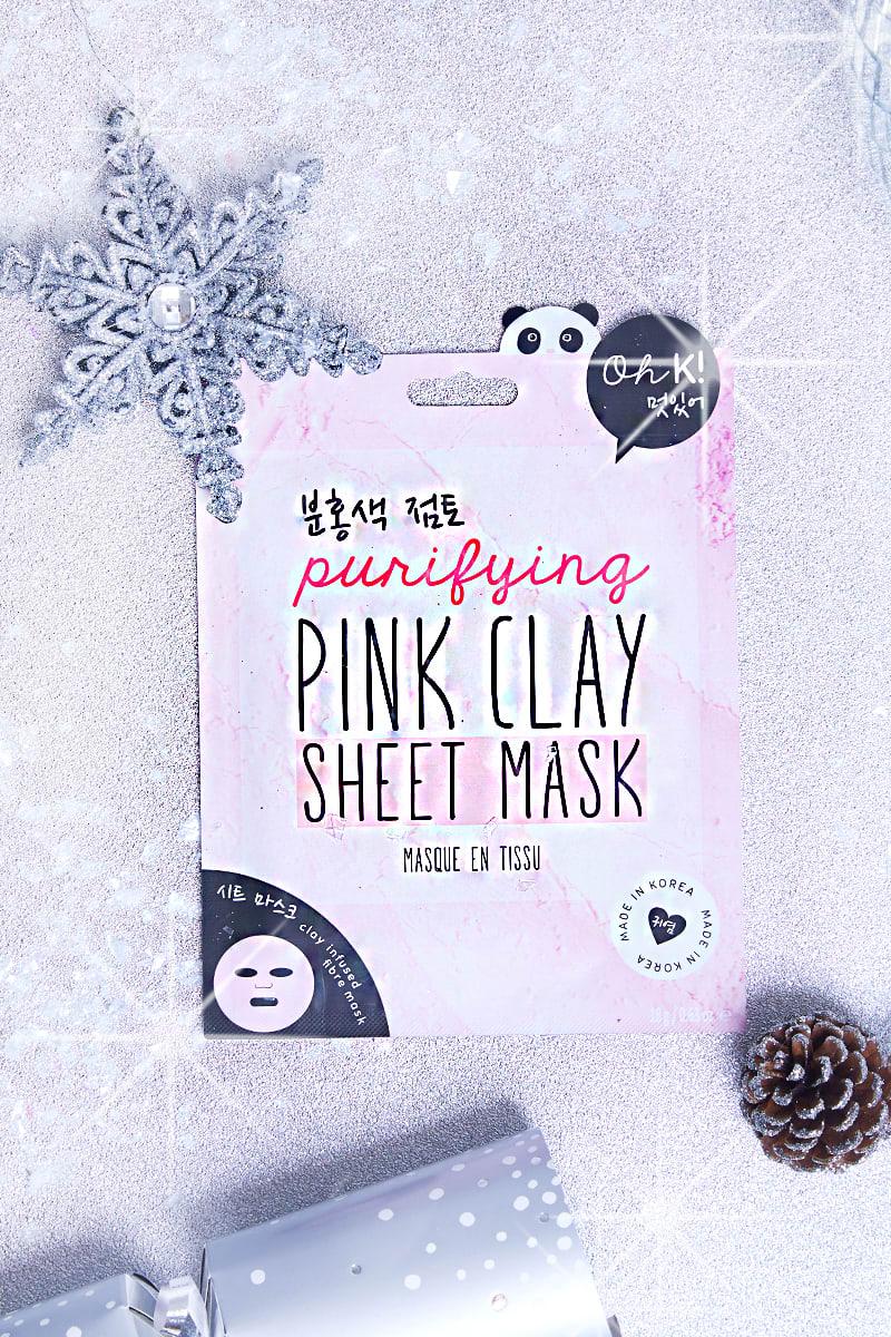 OH K! PINK CLAY SHEET MASK