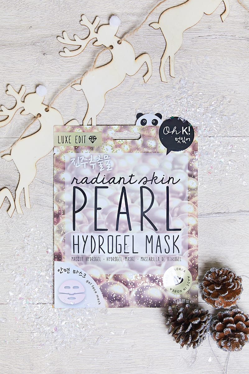 OH K! LUXE HYDROGEL PEARL FACE SHEET MASK