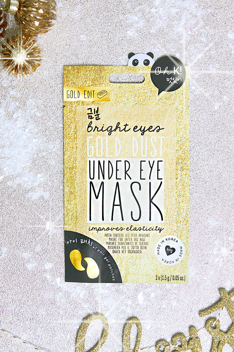 OH K! GOLD UNDER EYE SHEET MASK