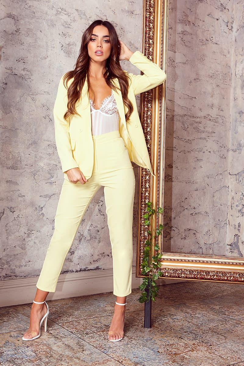 lemon cigarette trousers