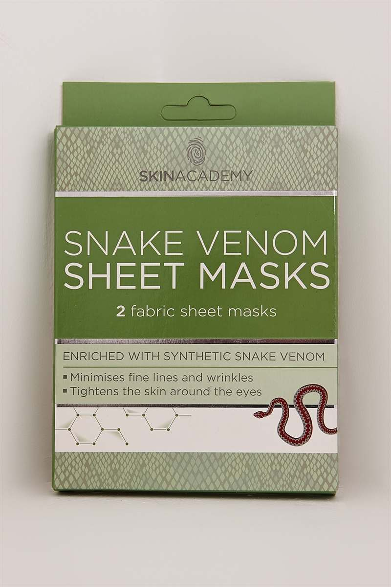 SNAKE VENOM SHEET MASKS