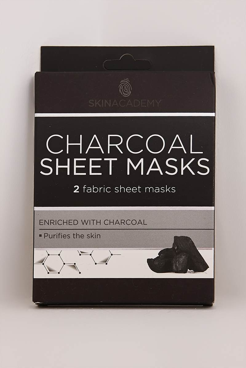 CHARCOAL SHEET MASKS